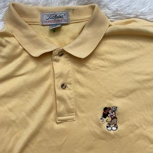 Vintage Mickey Mouse Golf Shirt